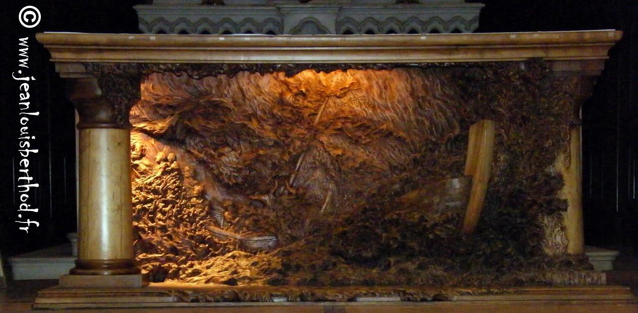 Altar de La Iglesia de Albens 33