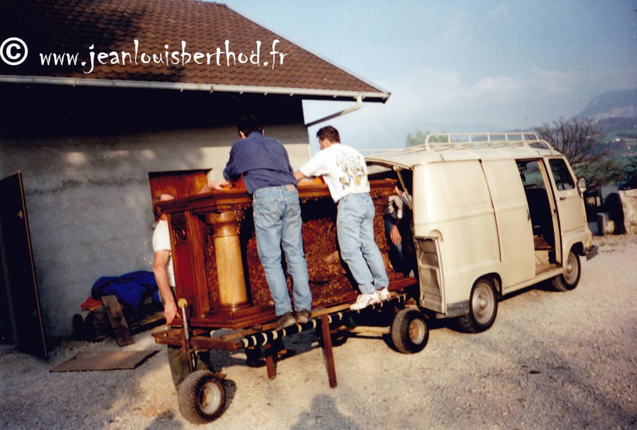 Transport autel +®glise 12
