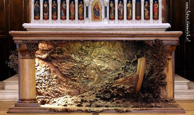 Altar de la Iglesia de Albens