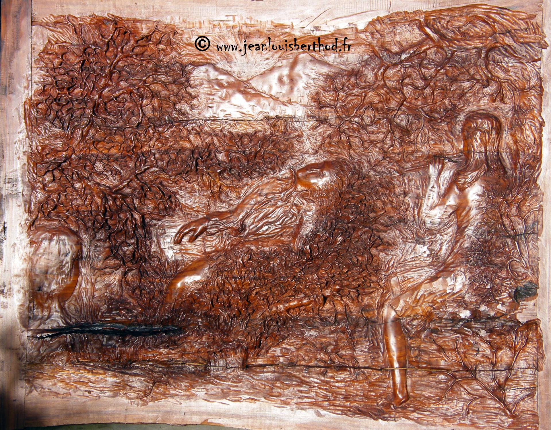 Sculpture de jean louis berthod le dormeur du val rimbaud - Dormeur du val rimbaud ...