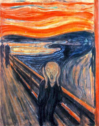 Munch le cri 1893
