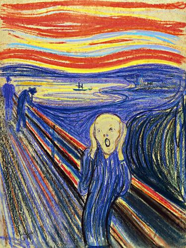 Munch le cri 1895