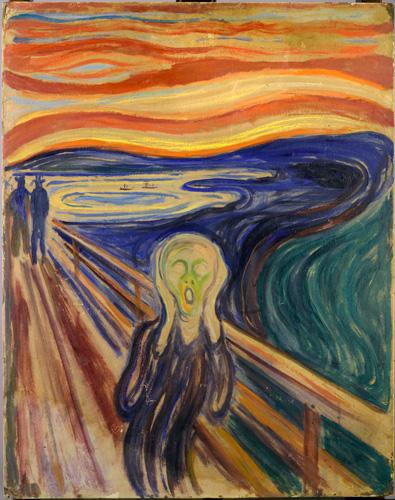 Munch le cri 1910