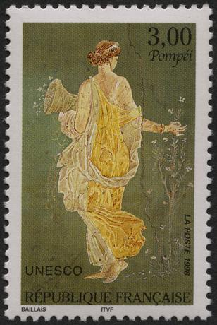 Pompei timbre